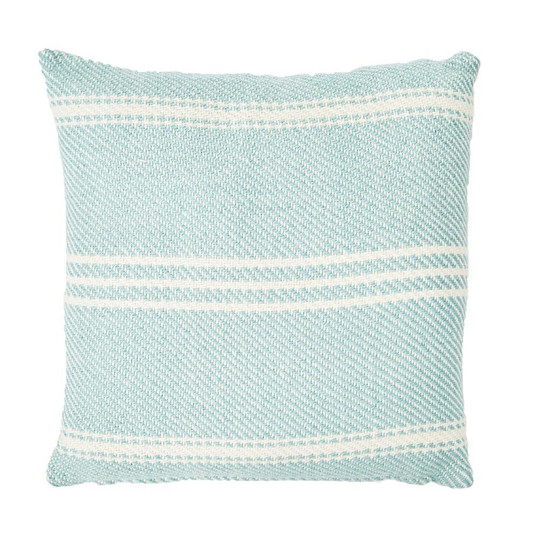 Ox Stripe Teal Cushion