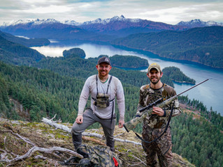 Taxidermy and Mountain Goat Hunting