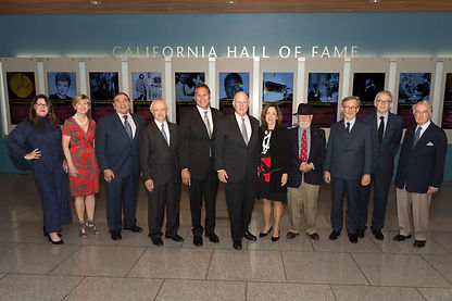 California Hall of Fame Recipients 2017 - photo credit Jose Luis Villegas