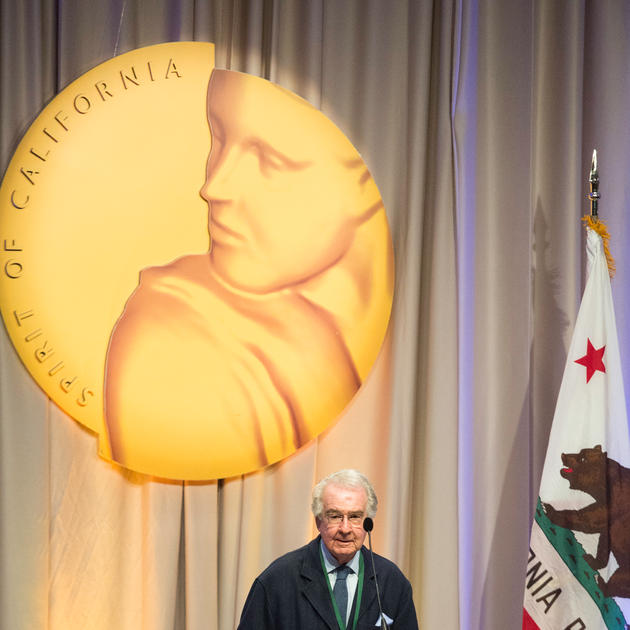 Warren Winarski at California Hall of Fame Cermony for the 11th class, on December 5th, 2017