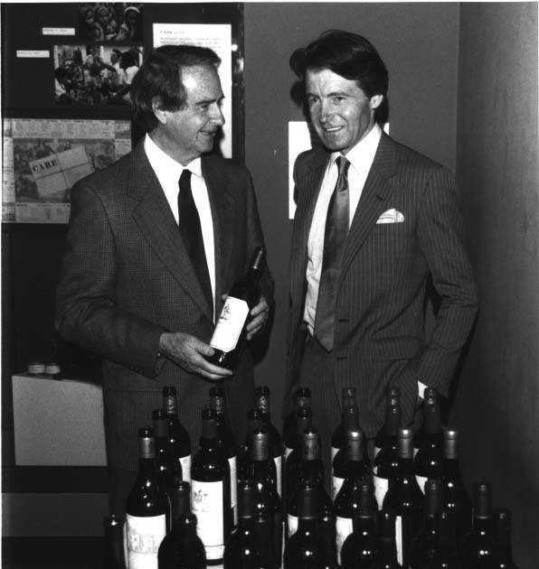 Warren Winiarski and Steven Spurrier