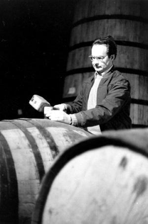 Warren Winiarski & barrels