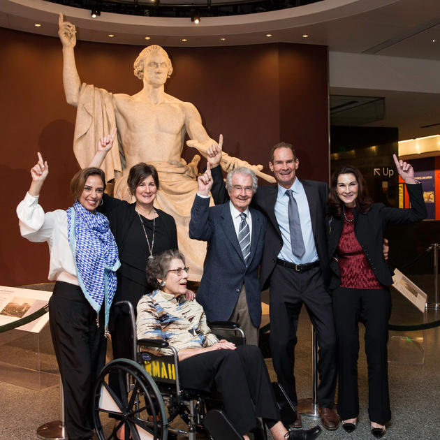 Winiarski Family at the Smithsonian 2016 Celebrating the 40th Anniversary of the Judgment of Paris