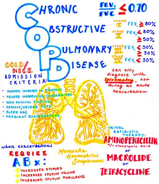 Chronic Obstructive Pulmonary Disease study guide