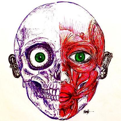 anatomical self portrait