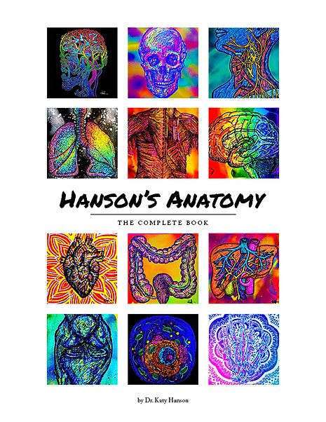 Hanson's Anatomy COMPLETE book (hardcover)