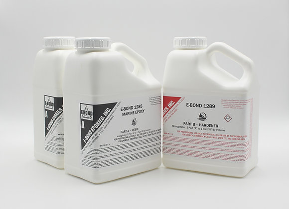 E-Bond 1285A/1289B Marine Epoxy System - 3 gallon kit