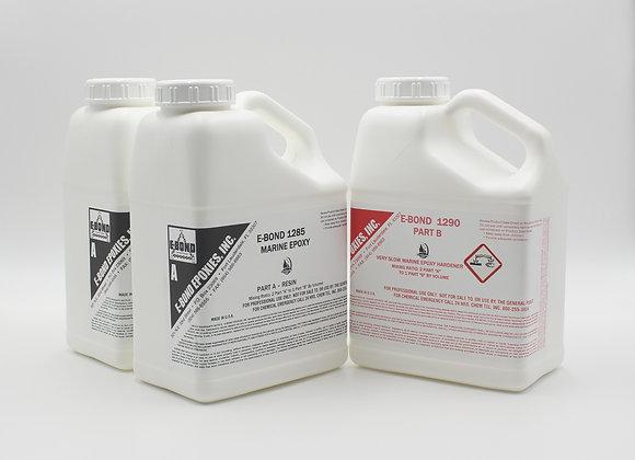 E-Bond 1285A/1290B Marine Epoxy System - 3 gallon kit
