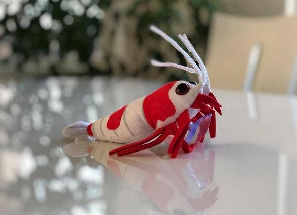 "Shrimp Stuffed Plushie (6"")"