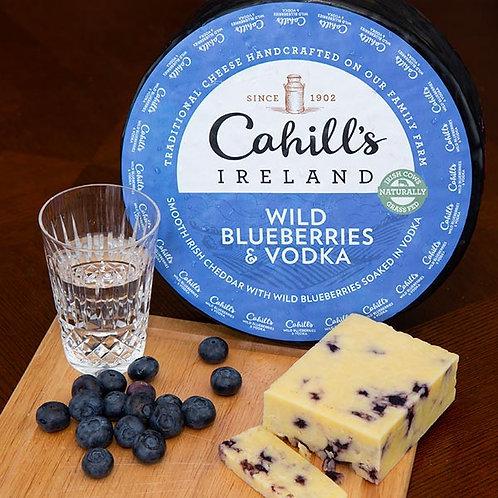 Cahills Irish Cheddar With Wild Blueberries And Vodka
