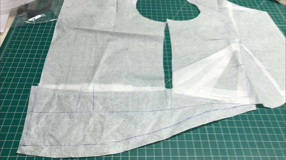 Altering my standard bodice pattern for maternity