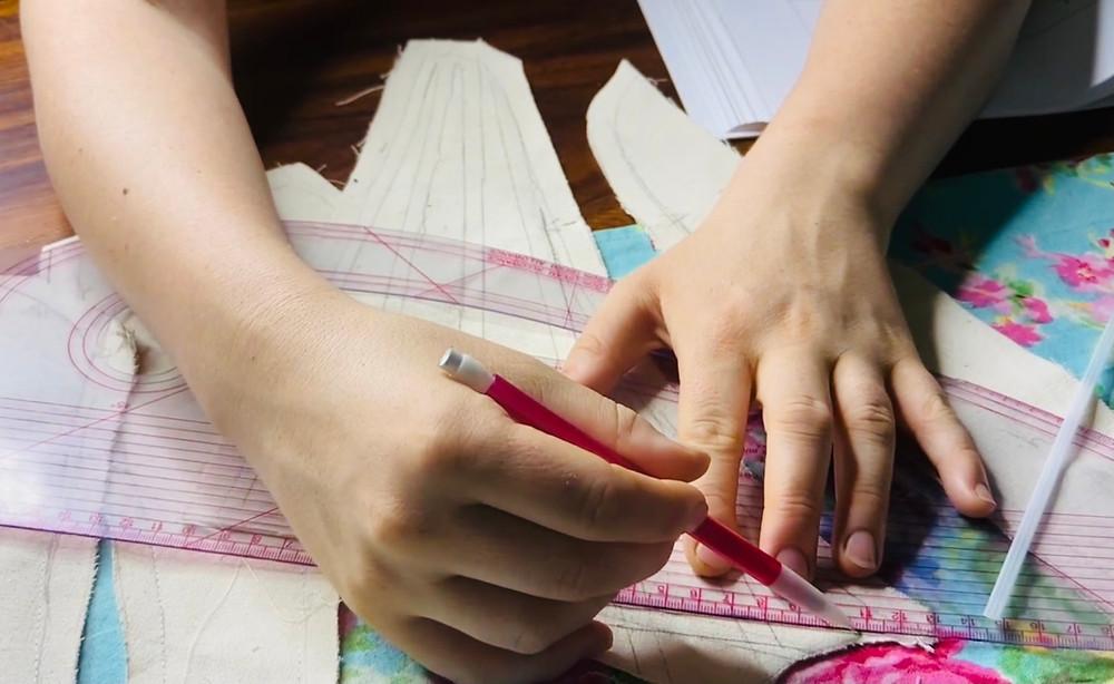 drafting patternmaster corset making sewing
