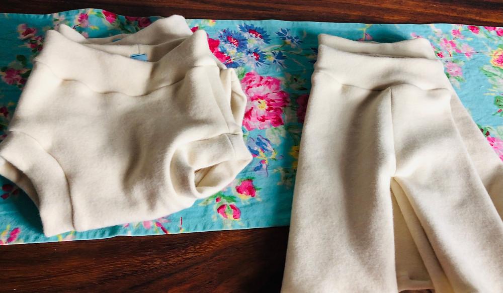 sewing wool diaper covers fleece katrinas soaker longies
