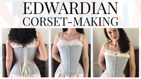 VIDEO: Edwardian S-Bend Corset (Part 2)