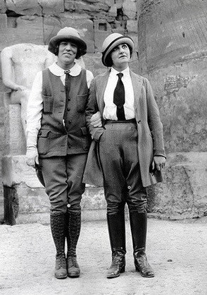 historical women in pants 1920's victorian