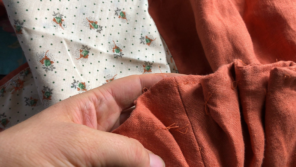18th century jacket sewing project