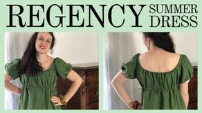 Regency-Inspired Dress