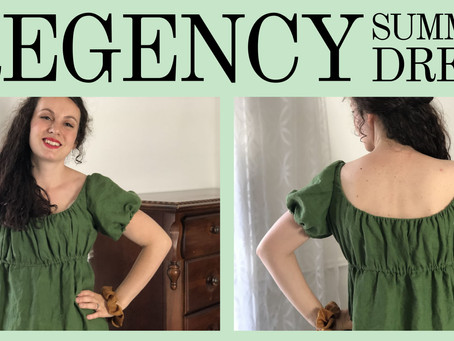Regency-Inspired Dress