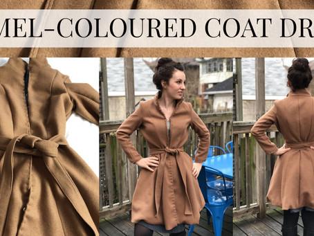 Camel-Coloured Coat Dress