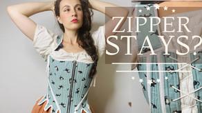How I Made a Modernized 18th Century Zipper Corset | Modes4U Fabric Review