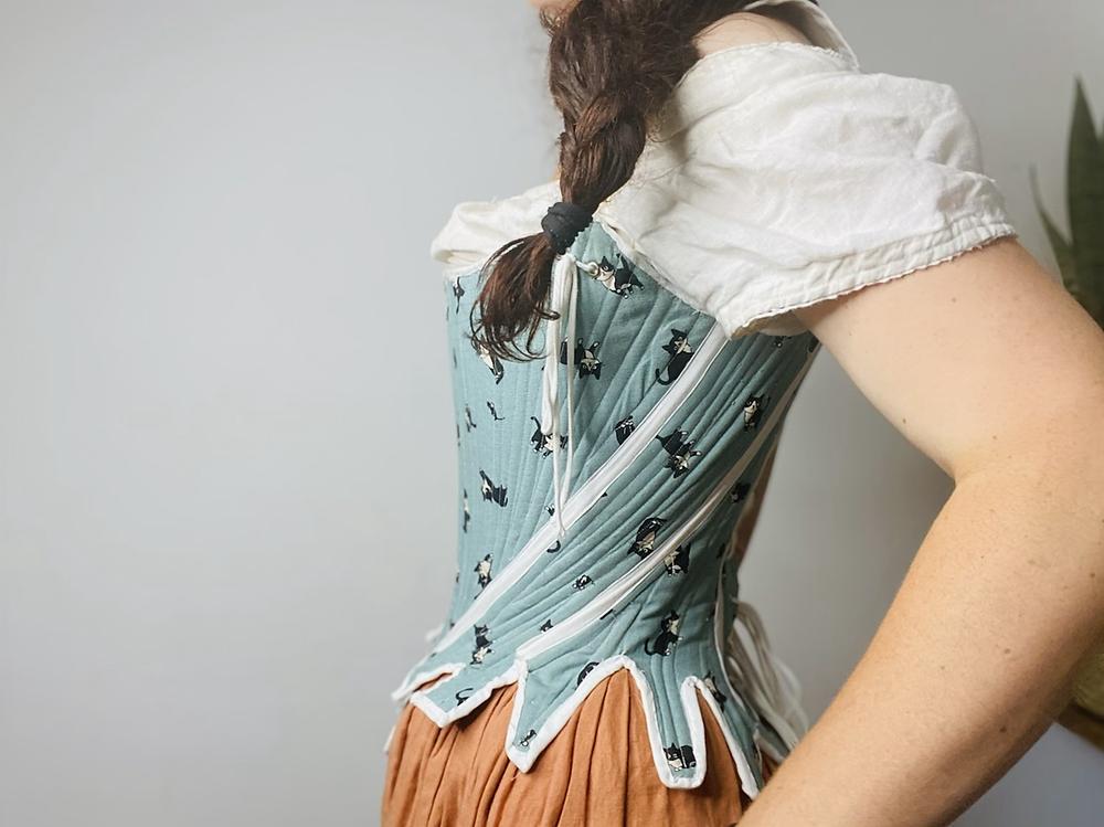augusta stays 18th century corset boning 1700s outlander costume zipper kawaii modes4u