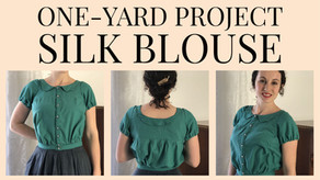 VIDEO: Silk Noile Blouse - Hand Sewn One Yard Project