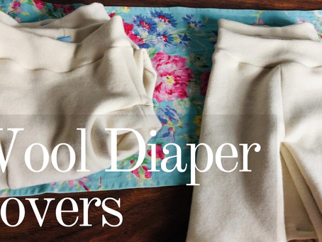 How to Sew Wool Diaper Covers | Longies and Soakers