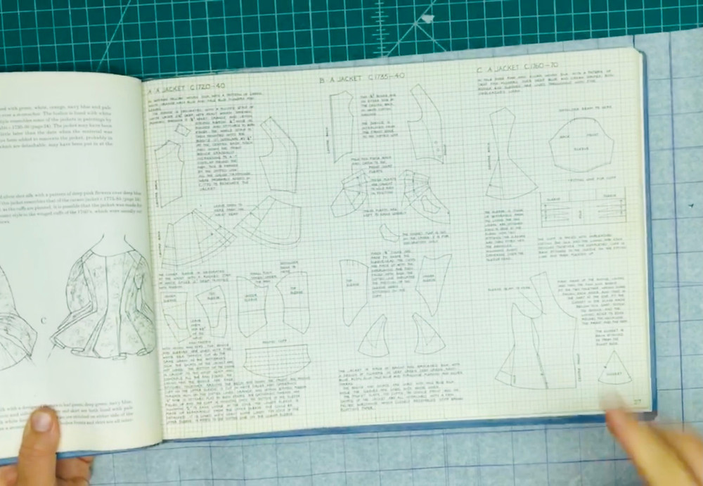 drafting corset making self drafted historical sewing eighteenth century