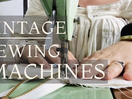 Vintage Sewing Machine 101