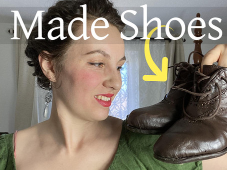 I Made Shoes! | Beginner Shoemaking Tips and Tools