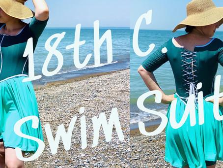 Here's How I Made an 18th Century Corset Swim-Dress