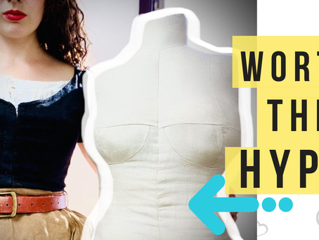 """I Made the """"Bootstrap Fashion"""" DIY Dress Form: Is it Worth the Hype?"""