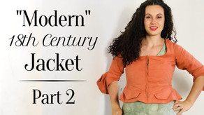 "Making a ""Modern"" 18th Century Jacket 