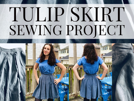Tulip Skirt Sewing Project