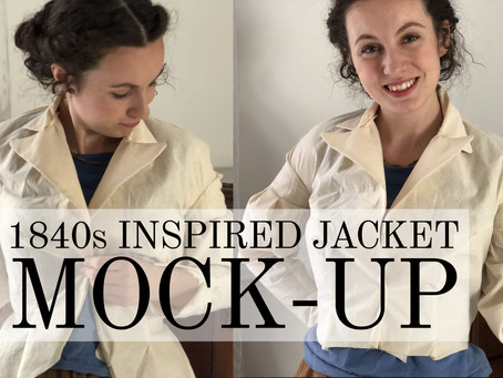 VIDEO: Jacket Mock-Up: From Terrible to Tolerable