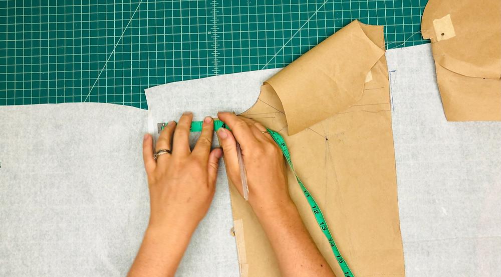 Retro Maternity Dress Pattern Making
