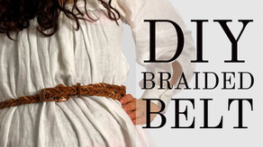 HOW TO | Make a DIY Braided Leather Belt