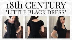 "VIDEO: 18th Century Inspired ""Little Black Dress"""