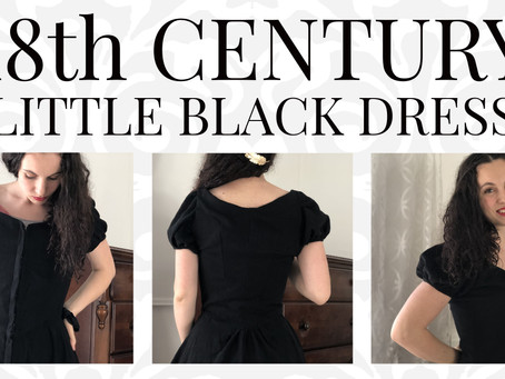 "VIDEO: 18th Century Inspired ""Little Black Dress"""