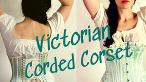 Here's How I Made a Victorian Corded Corset