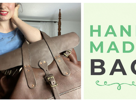Making a Leather Bag by Hand