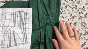 corset, corsetry, sewing pattern