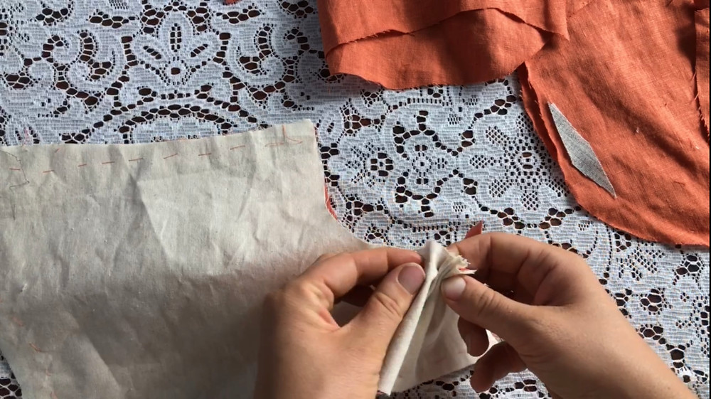 18th century jacket sewing