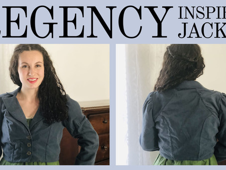 Regency-Inspired Jacket