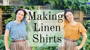 Here's How I Made Two Linen Shirts With One Yard of Fabric Each