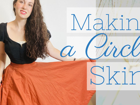 How to Make a Circle Skirt | Modes4U Fabric Review