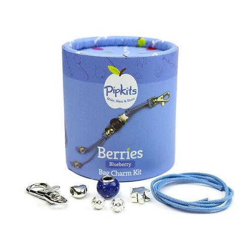 Berries bag charm kit -Blueberry