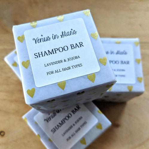 Lavender & Jojoba Shampoo Bar