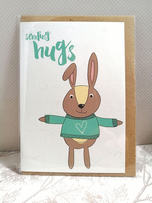 Hugs card