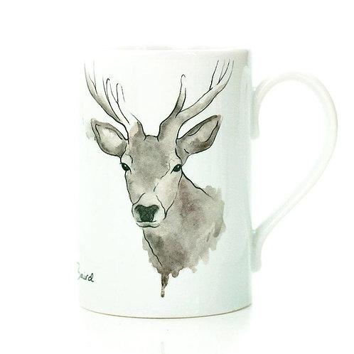 Highland Stag Porcelain Mug